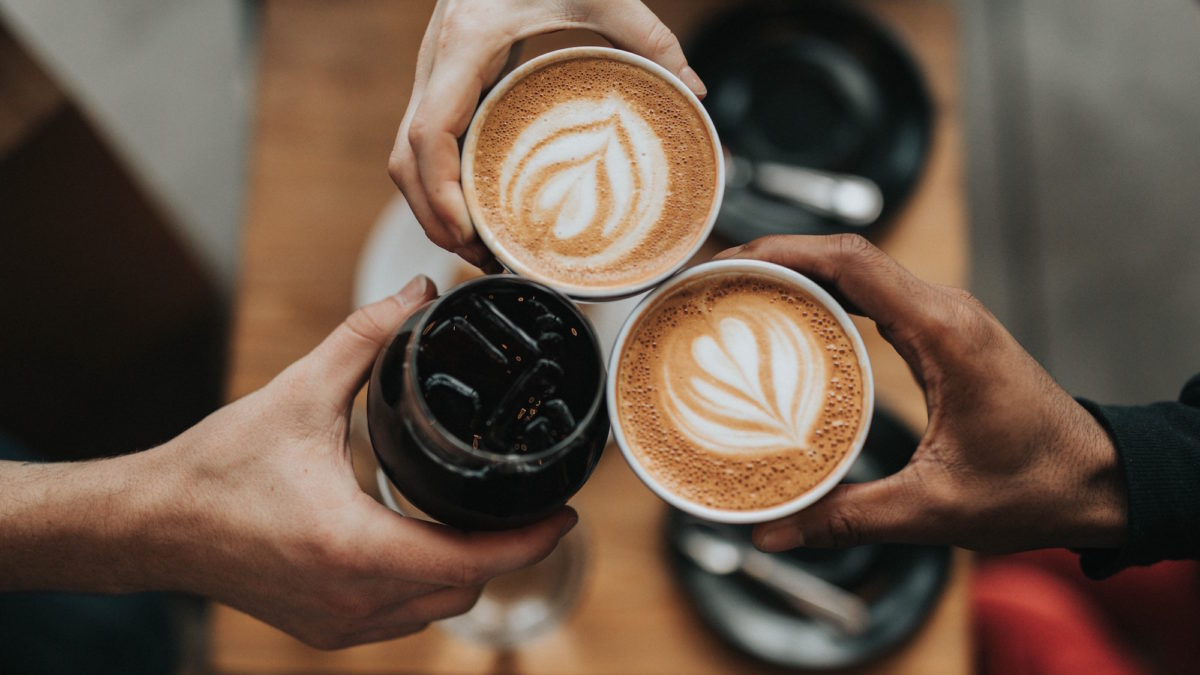 White Coffee beans